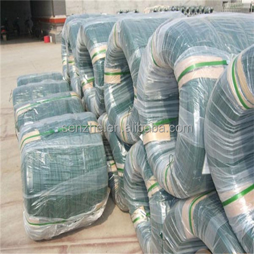 Ral 6001 dark green color pvc coated iron wire