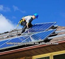 1000w domestic use solar power home system