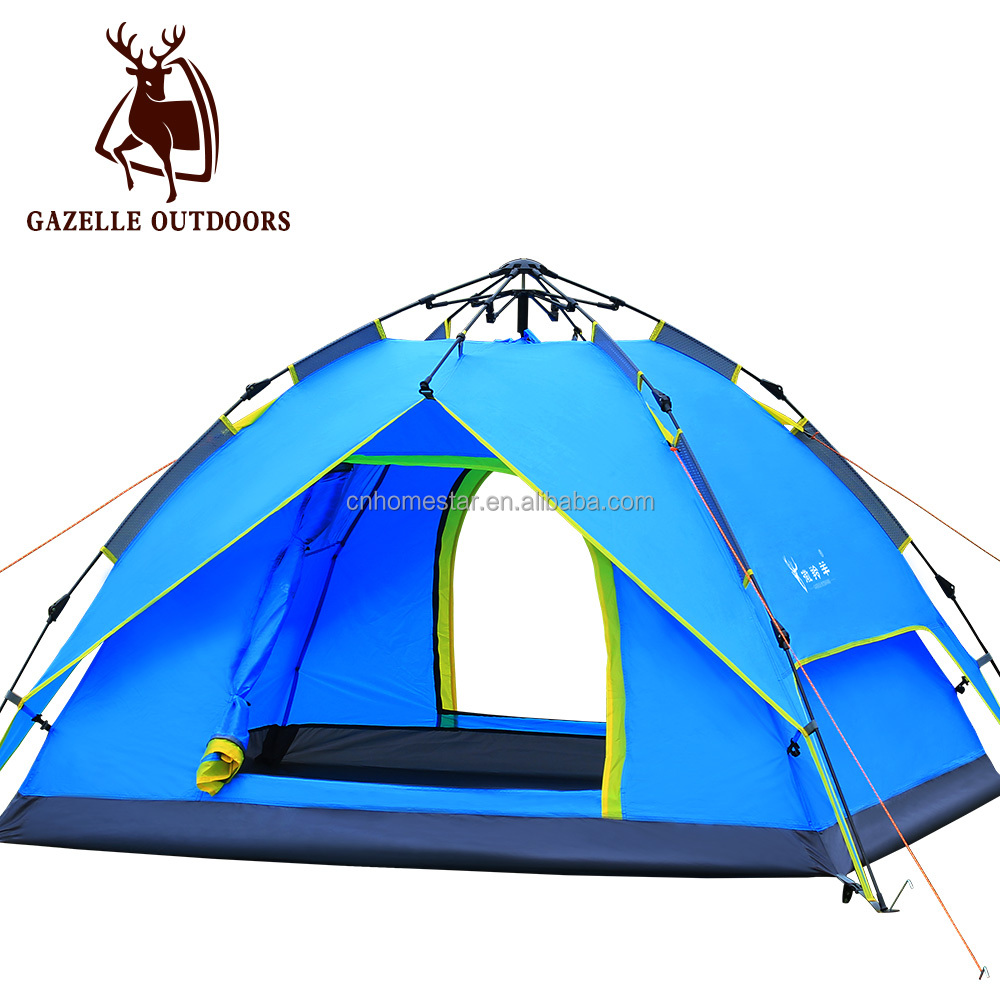 Quick Opening 2014 outdoor camping tent For Outdoor Camping for 4 persons
