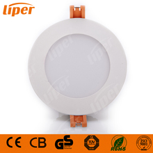 Liper High power Aluminum recessed Ceiling light round frame 6 inch 10w SMD LED Downlight residential lighting with CE CB RoHs