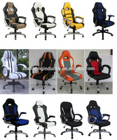 ZHENHONG Leather Sparco Racing Style Office Chair Factory Wholesale Racing Sport Seat Chair Office chair 001