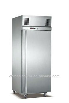 Gastron cabinet,Kitchen Refrigerator with Carel Thermostat, Made of Stainless Steel