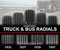 Truck tyres 11R-24.5 in truck tyres for sale
