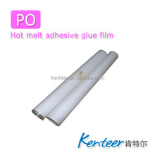 kenteer PO Hot Melt Adhesive Glue Film for Metal sequins