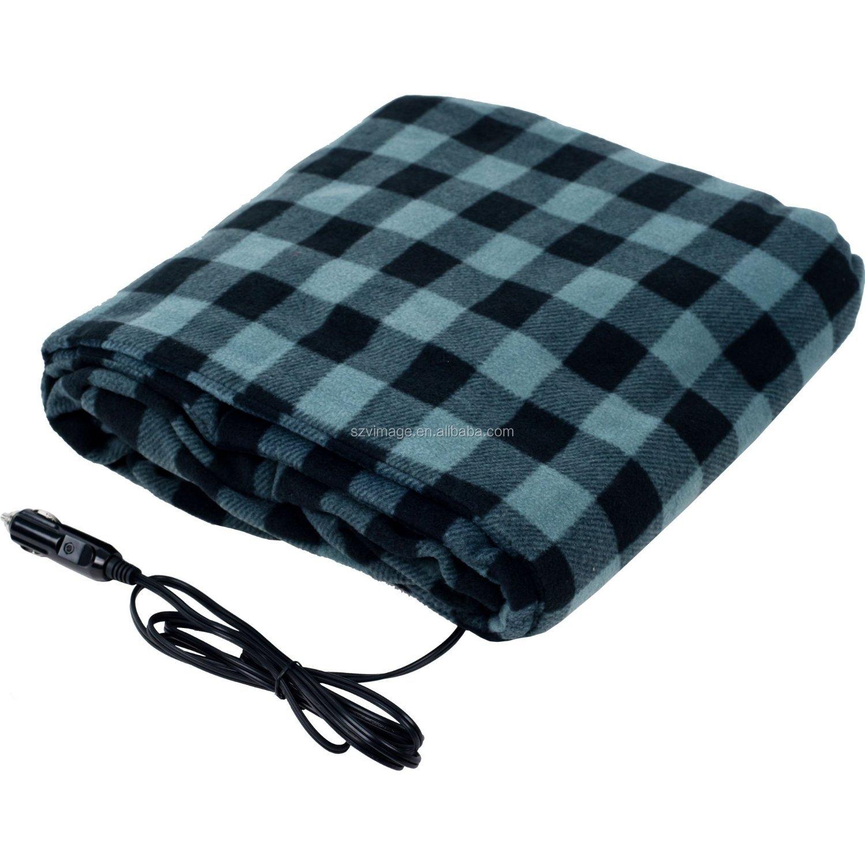 couverture chauffante sur la voiture 12 v plaid couverture lectrique pour automobile. Black Bedroom Furniture Sets. Home Design Ideas