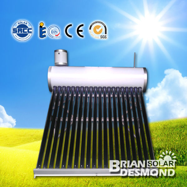 Evacuated Tube Solar Water Heater Machinery