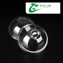 Professional manufacturer PET cup lids, custom coffee cup lids,plastic yogurt cup lid