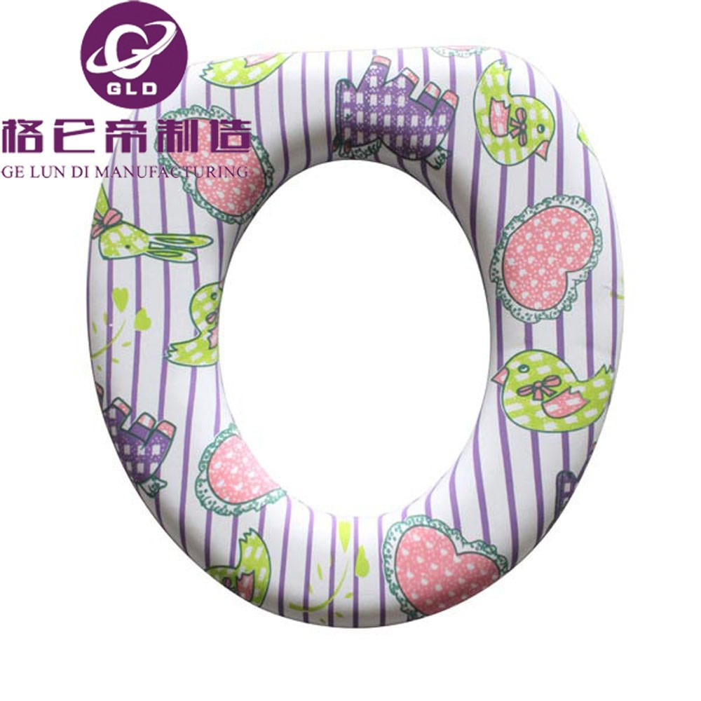 Gld decorative toilet seat cover lovely children toilet - Decorative toilet seat covers ...