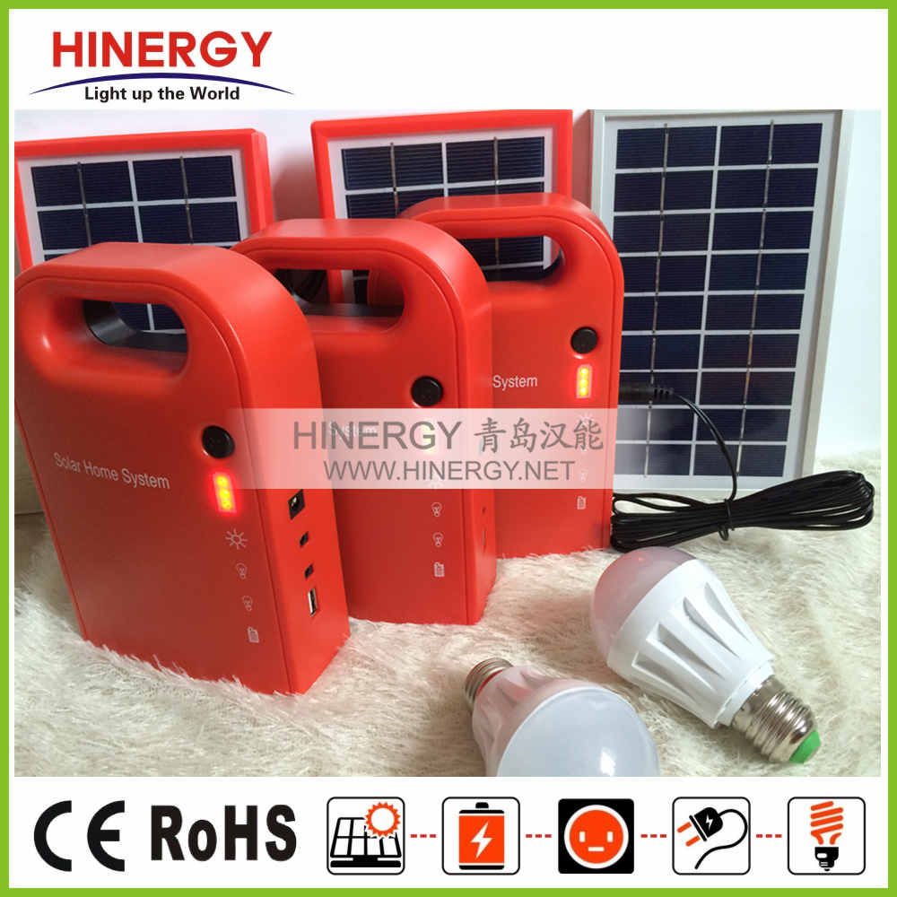 2016 newest portable solar power system for small homes, solar home lighting system with lithium battery