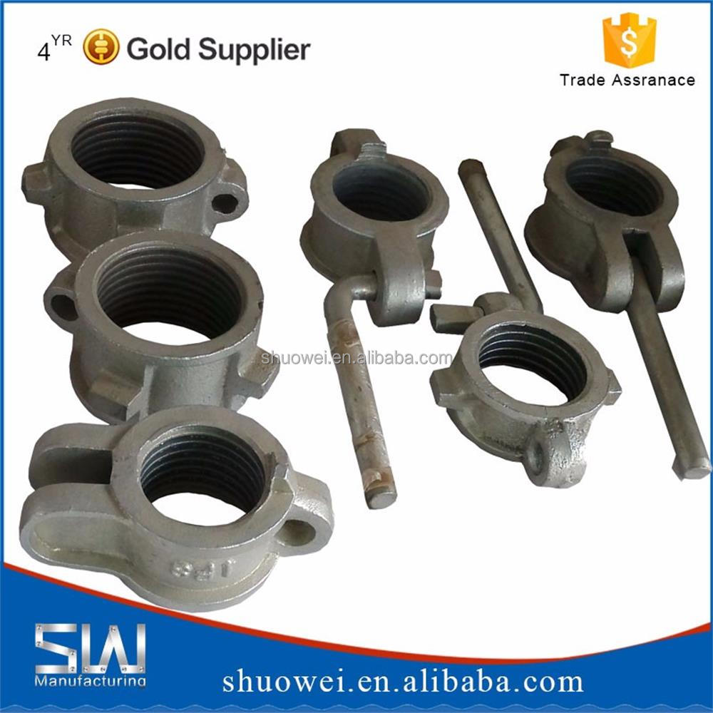 SHUOWEI casting scaffolding iron jack nut with competitive price