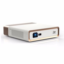Salange Smart 3D 4K Projector with 1920*1080p Full HD Resolution 1200 Ansi Lumens Auto Focus 2G/32G Bluetooth4.0 Dual WiFi H.265