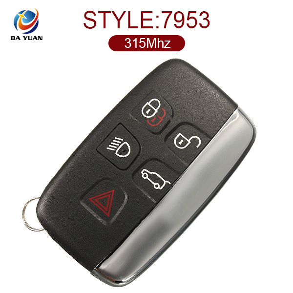 High quality remote control key for Range Rover Evoque/Sport/2010- 2016 with 5 button 434 Mhz PCF7953P chip AK004012