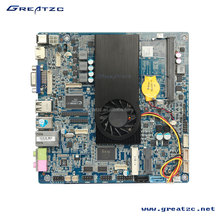 ZC-3227U Mini ITX 3227U Motherboard, I3-3227U Mainboard, Intel HM77 Chipset Motherboard With LVDS