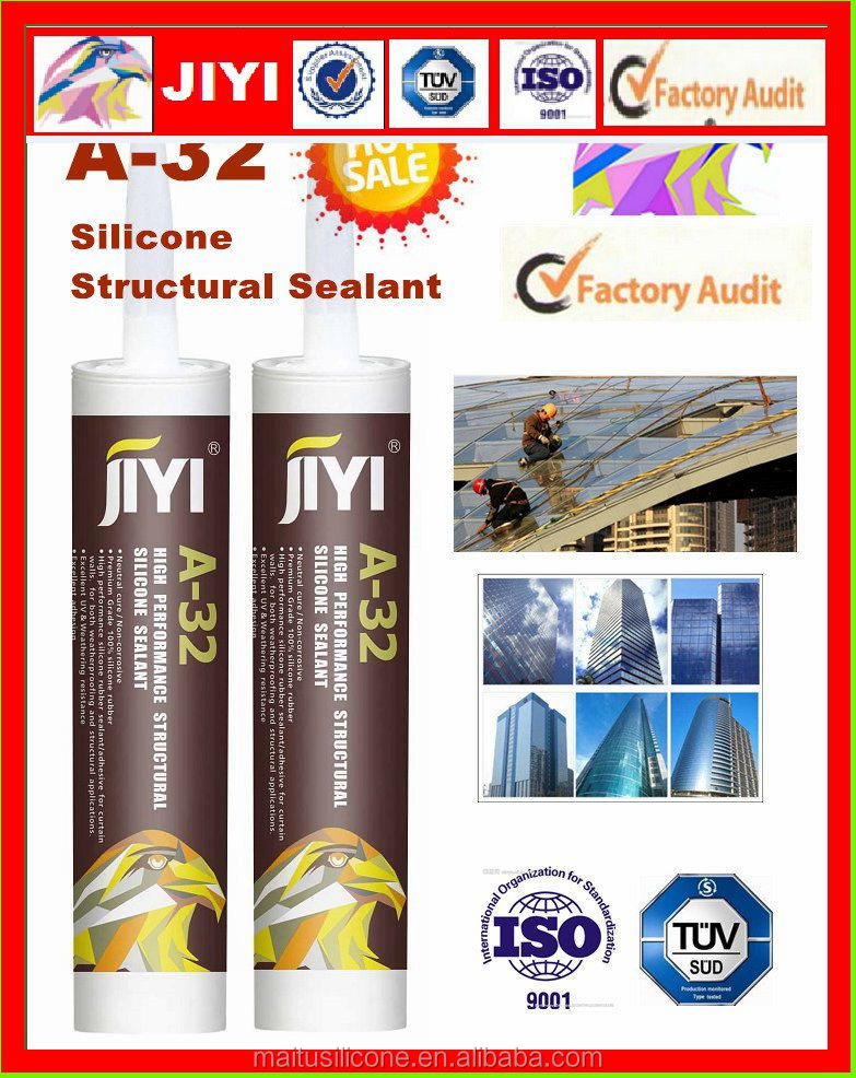 Neutral silicone sealant construction grade fixing and bonding sealant for glass curtain wall glass glue