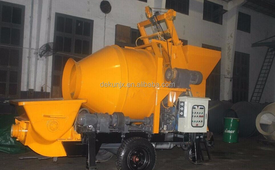 China cheap portable mixer and pump diesel concrete mixer 0.5m3