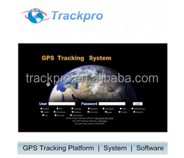 GPS Tracker control Web Online Server supporting Suntech ST