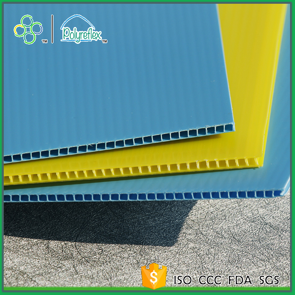 30% off high impact pp corrugated plastic sheets for construction