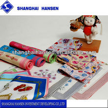 Gift box & modern ladies plain white cotton handkerchief