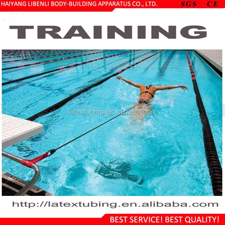 Fitness Bands You Can Swim With: Swimming Resistance Bands Training With Belt