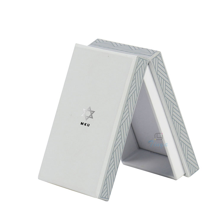 E-cigarettes packaging hinged lid cardboard box