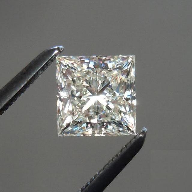 5 carats lot VVS G/H/I 0.02 cent/pointer princess cut diamonds loose