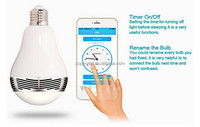 2015 china top quality energy saving led lights, smartphone app controlled music bulb
