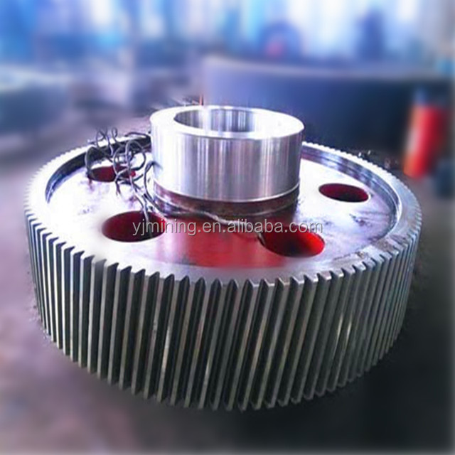 Small casting and forging gear wheel / gear shaft for industry