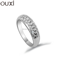 OUXI 2015 New products christmas gift alloy finger ring 40137