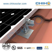 Stand alone 2KW Tile roof mounting solar racking system