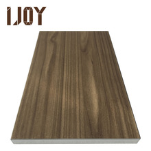 high glossy texture melamine cover for raw MDF panel UV coating board