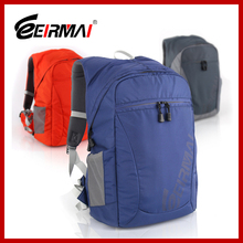 travel bag with lens compartment for shockproof