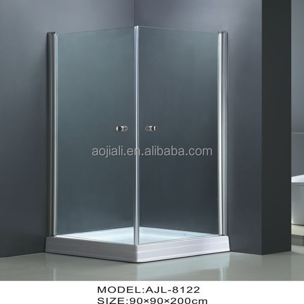 AJL-8122 pinghu china manufacturer simple siding shower room/shower enclosure