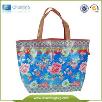 New Design recycle foldable Double layer pp non woven bags/shopping bag made in China