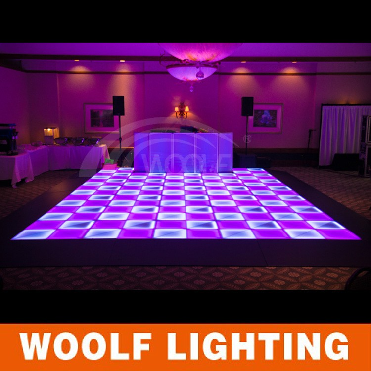 Portable Dance Floor With Lights : Buy dicso portable led light up dance floor