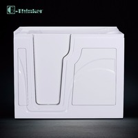 walk in bathtub with door acrylic CUPC safety tubs factory