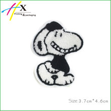Custom Design Special Cartoon Dog Patch 3D Embroidery Patch For T-Shirt
