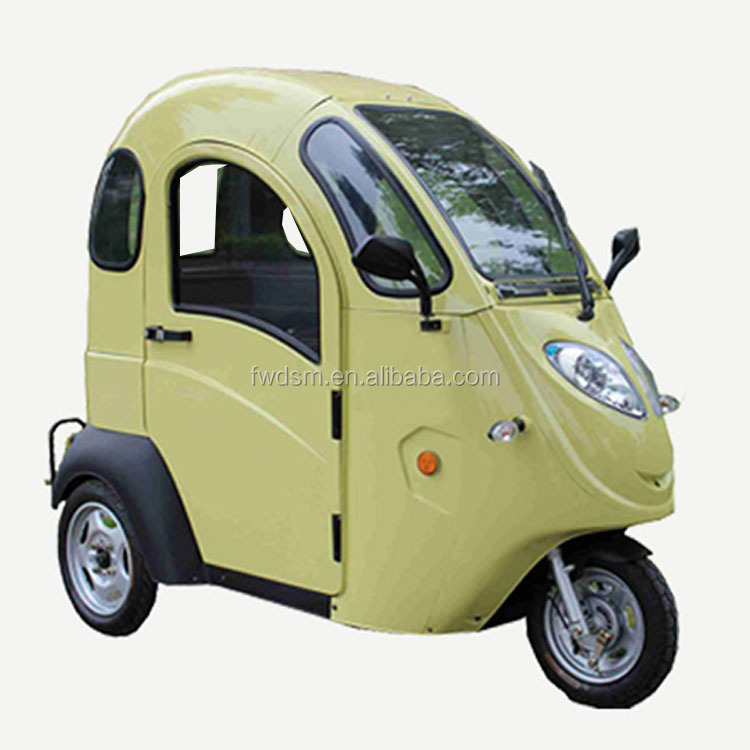 Electric Tricycle Taxi 3 Wheel Motorcycle 800W For Sale