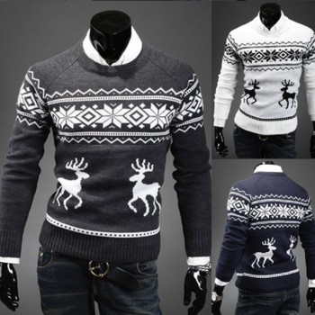 MS70966G 2016 men wholesale cheap Christmas pullover sweaters