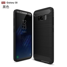 2017 newest carbon fiber TPU PC protective mobile phone case For Galaxy S8 Case