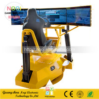 NQN-020 factory direct sale play car racing games 360' Full Motion driving simulator for theme park