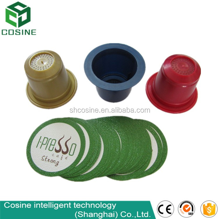 Can customized disposable coffee capsule and lids