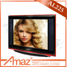 21inch red profeesional hd tube television sets