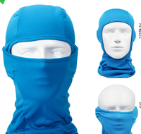 Ski Full Face Mask Cover Hat Cap Polyester Mesh Motorcycle Balaclava