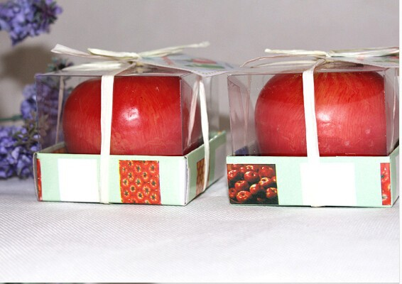 Provide apple candle different fruit candle christmas fruit shape candle