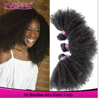 2016 Wholesale Top Quality Brazilian Afro Kinky Human Hair Extensions Full Cuticle Afro Kinky Curly Braiding Hair