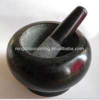 stone motar and pestle