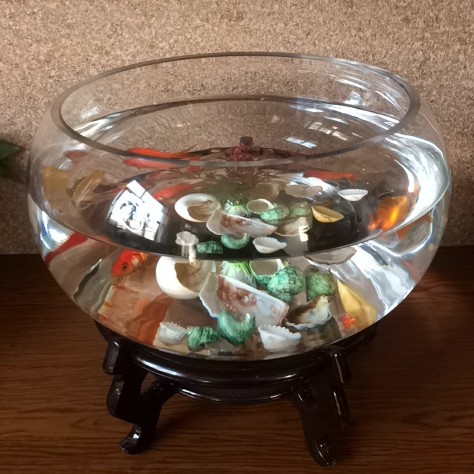 China Acrylic Self Cleaning Fish Bowl/Goldfish Bowls/ Plastic Fish Bowl