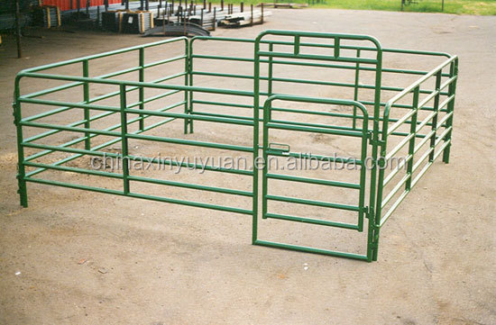 Ausralia standard hot cheap Horse corral panels and gates