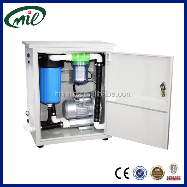 750L/Min air flow mobile dental suction unit for Dental Hospital, dental clinic, surgery room
