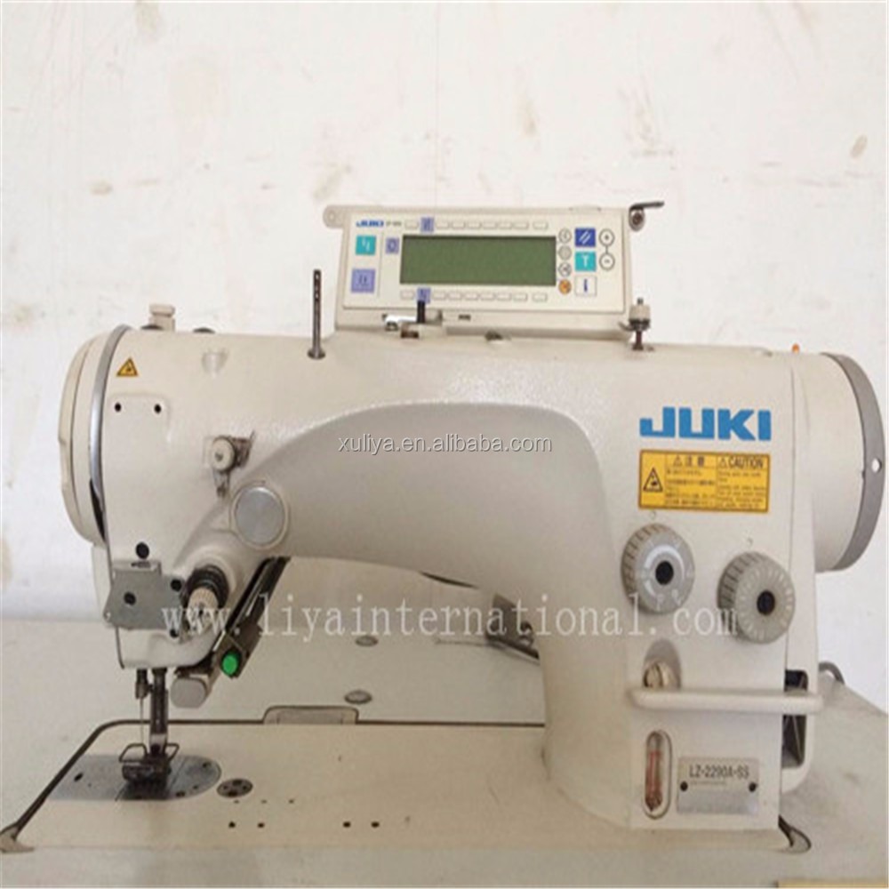 Juki LZ-2290A-SS Old Second Hand Used Automatic Zig Zag Industrial Sewing Machine Price